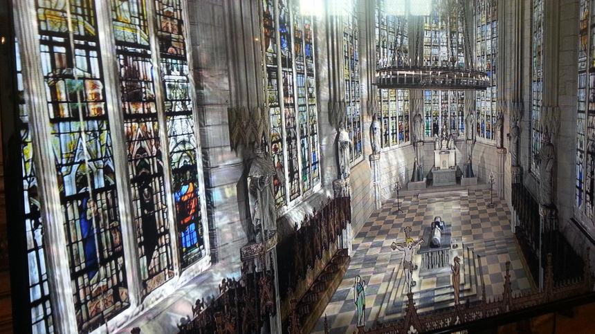 Saint Chapelle Bourges 3D blog aroundyou.link