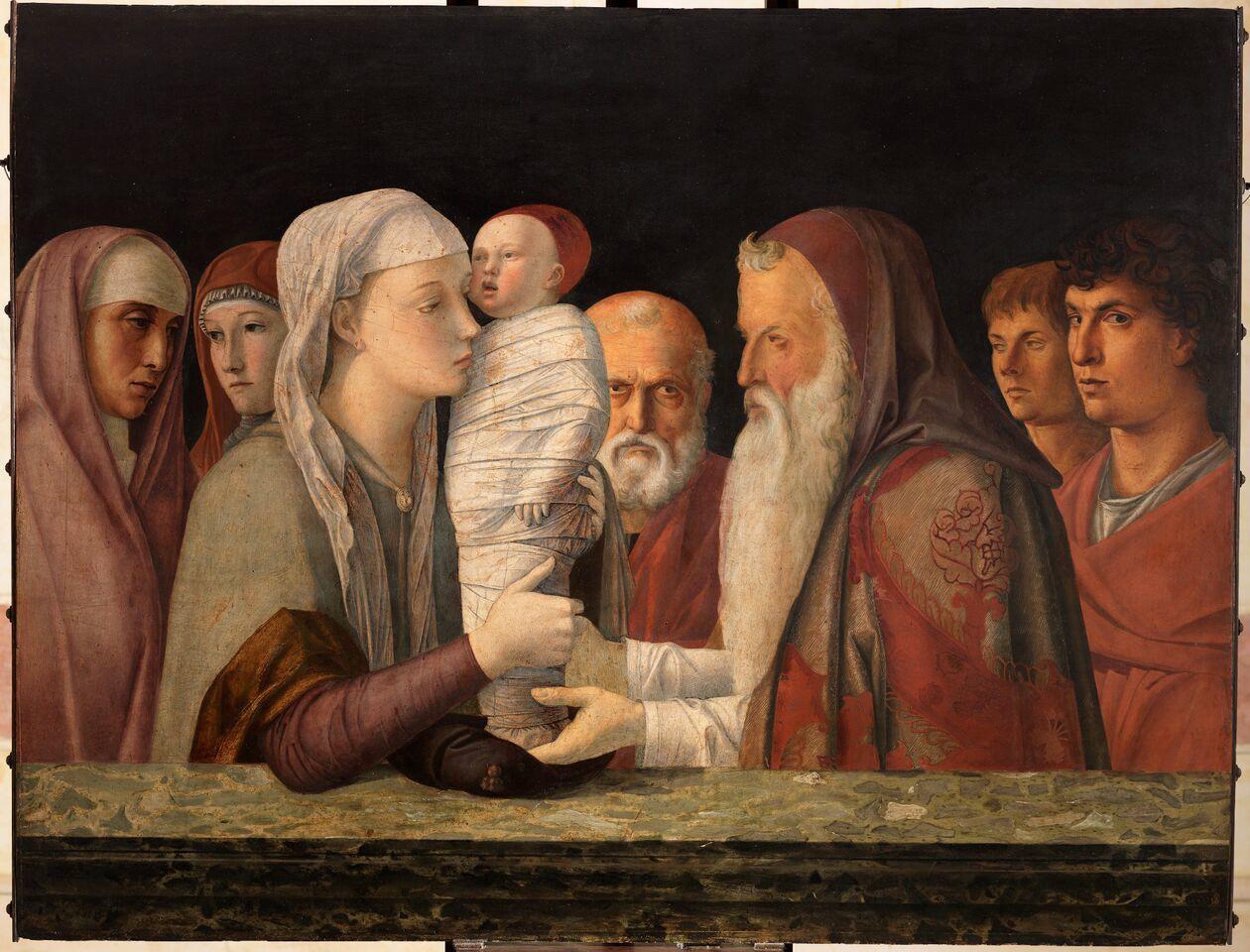 giovanni-bellini 1470 ca presentazione-al-te Fondazione Querini Stampalia di Venezia