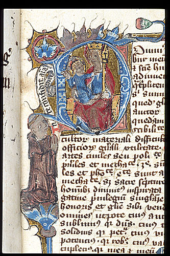 1108-22 Virgin and Thomas Besforde British Library Royal 4 C VI f. 1