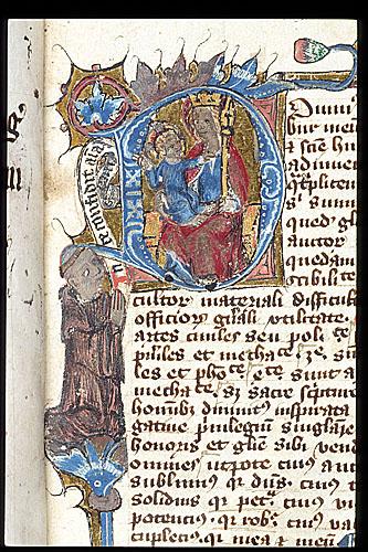 1108-22 Virgin and Thomas Besforde British Library Royal 4 C VI f. 1