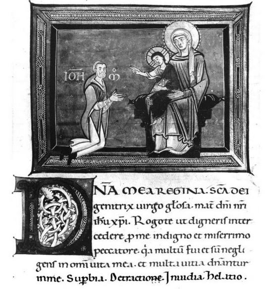 1150 ca Psalter Convento di San Michele a Maturi Biblioteca Mediceo-Laurenziana (Cod. Pluteo XVII.3, c. 155)