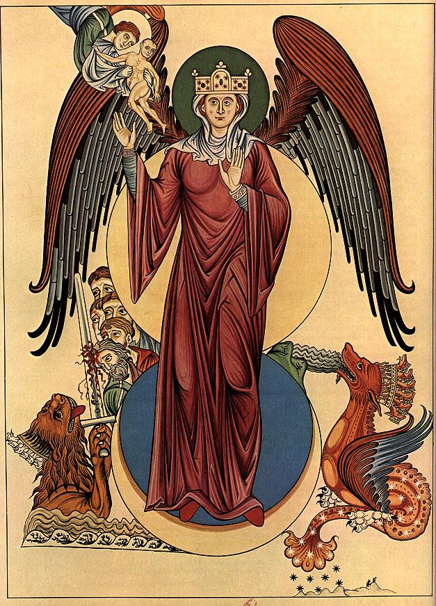 1159-75 Hortus_deliciarum d'Herrade de Landsberg