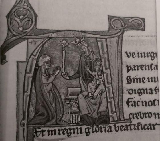 1200 ca Oxford Devotional Miscellany British Library Add MS 15749 fol 42