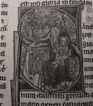 1200 ca Oxford Devotional Miscellany British Library Add MS 15749 fol 5