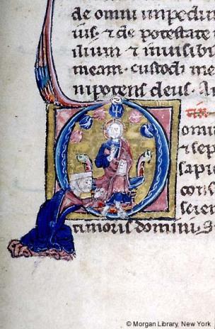 1230-39 Book of Hours, Paris Morgan Libray MS M.92 fol. 93v