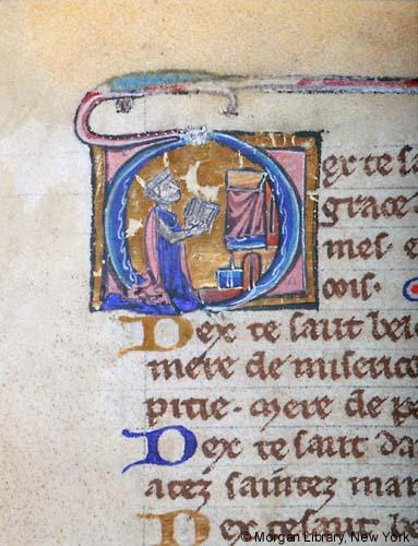 1230-39 Book of Hours, Paris Morgan Libray MS M.92 fol.130r