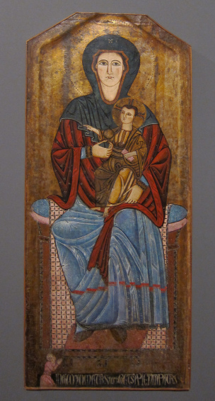 Enthroned Madonna with Christ Child, 2nd half of 13th century, M