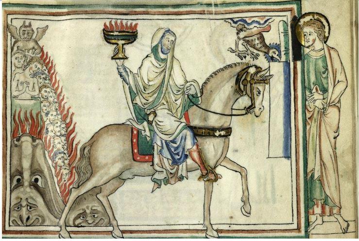 1260 ca BM Cambrai MS 422 fol 22r
