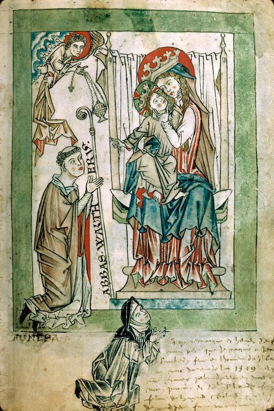 1260 ca Psautier cistercien Besançon BM -ms.0054 f008