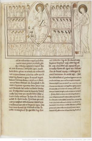 1275-1300 BNF Lat 10464 fol 11r