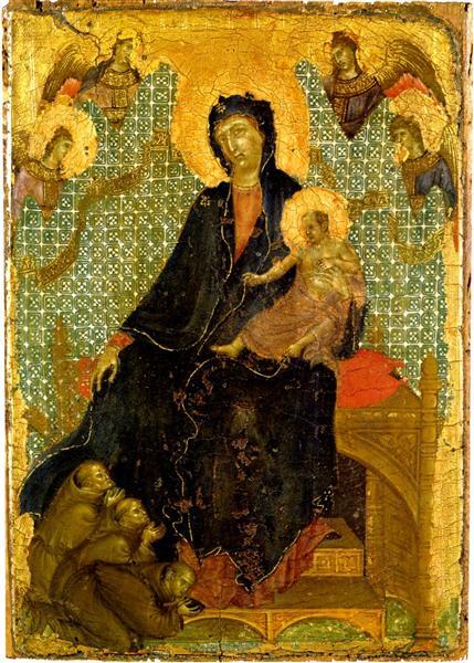 1280-85 Duccio_franciscan-madonna