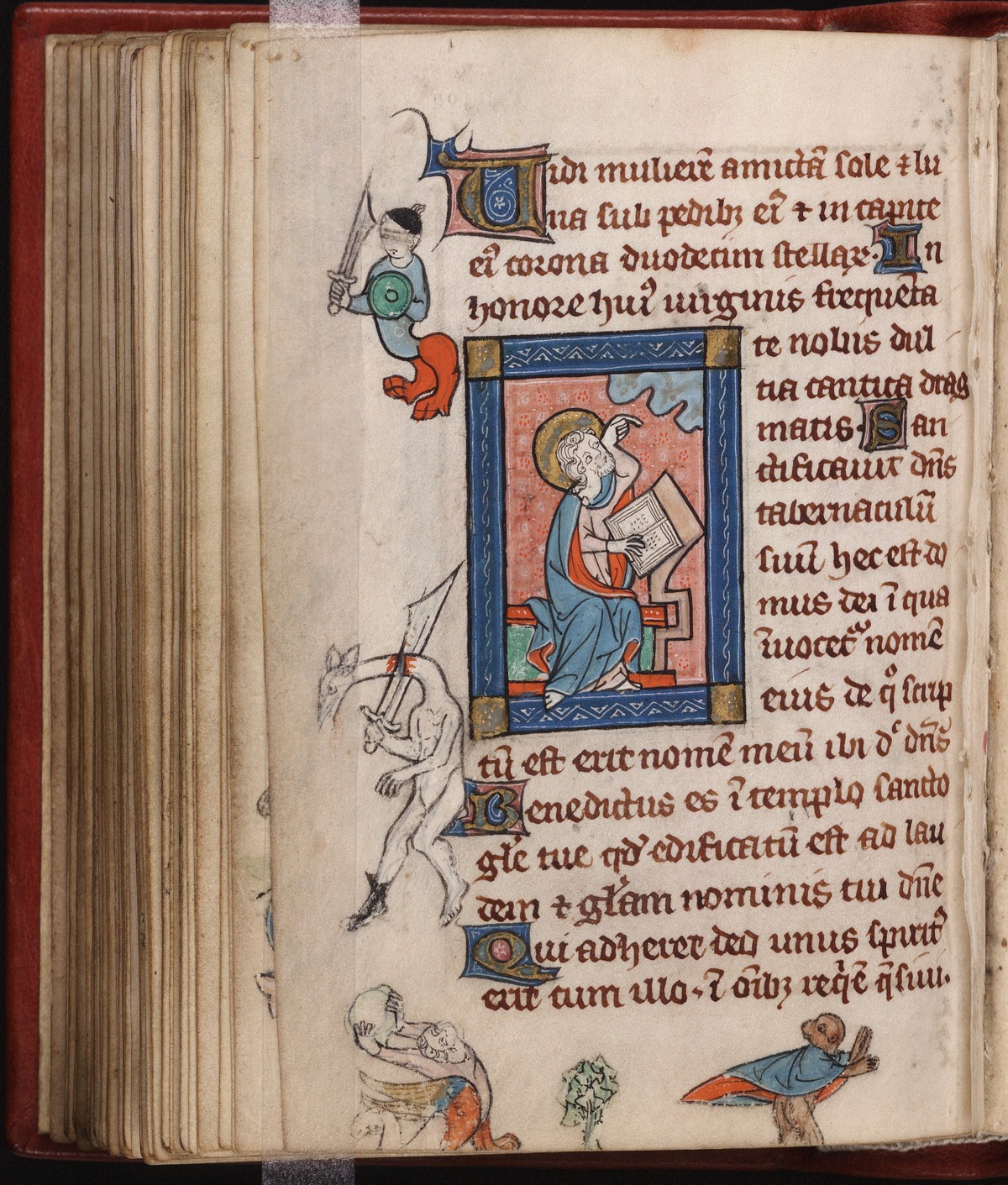 1290-1310 Rothschild Chronicles Beinecke MS 404 fol 63v