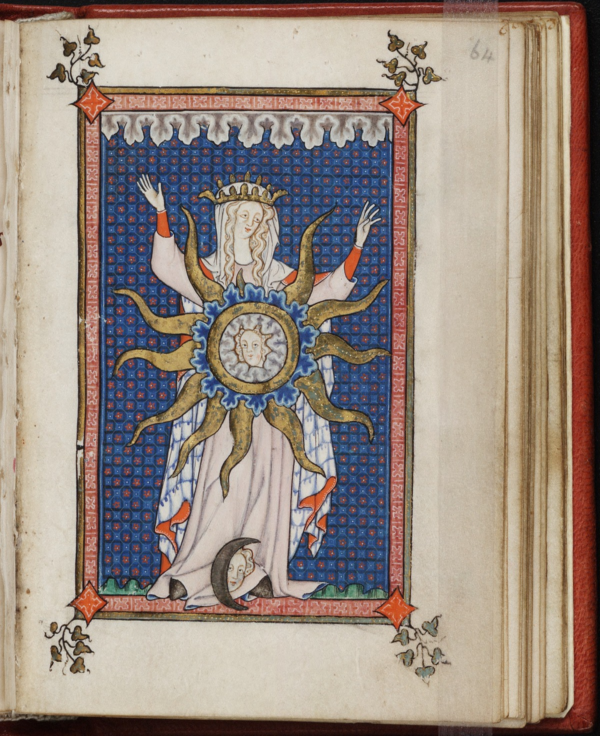 1290-1310 Rothschild Chronicles Beinecke Rare Book and Manuscript Library, Yale University MS 404 fol 64r