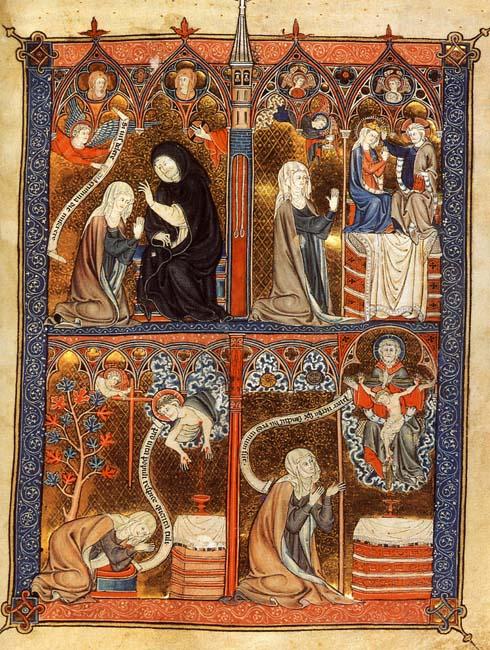 1290 ca La Sainte Abbaye BL Yates Thompson 11 fol 29