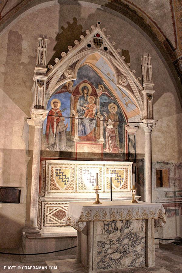 1296-97 Chapelle Caetani Duomo Anagni