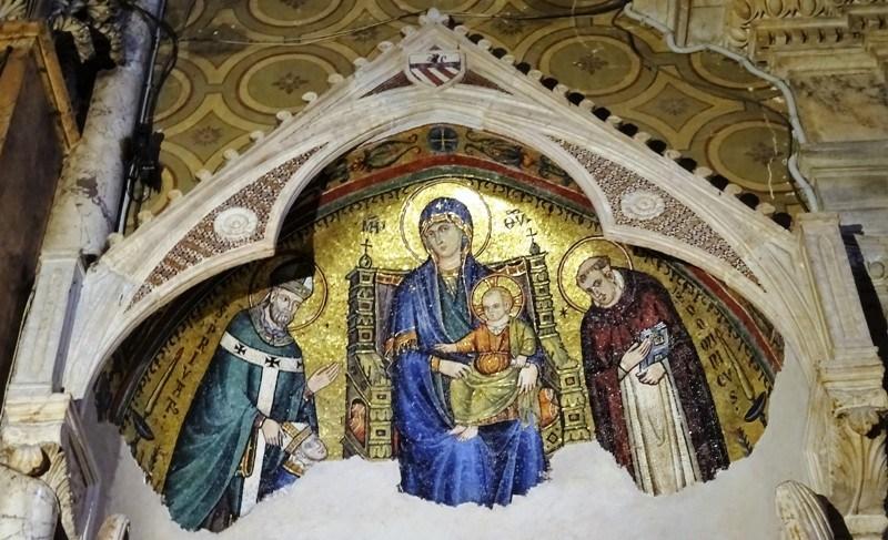 1296 Giovanni di Cosma, Monument Cardinal Guillaume Durand Santa Maria sopra Minerva