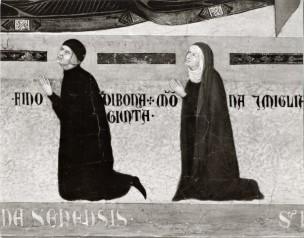 1298-1326 Segna di Bonaventura, Madonna in Maestà Collegiata di S. Giuliano, Castiglion Fiorentino droite