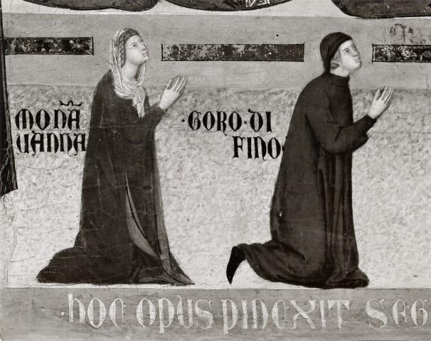 1298-1326 Segna di Bonaventura, Madonna in Maestà Collegiata di S. Giuliano, Castiglion Fiorentino gauche