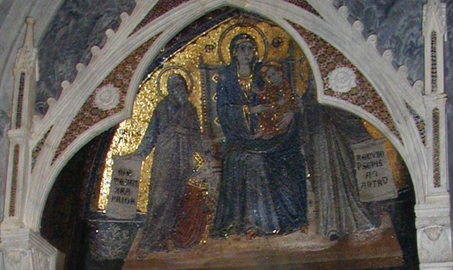 1299 Giovanni di Cosma, St Mathieu et Cardinal Gonsalvo Garcia Gudiel, St Jerome Ste Marie Majeure