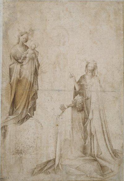 1300-99 niederlaendisch-kaiser-augustus-und-die-sybil Staedel Museum Francfort
