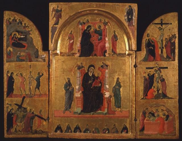 1311-1313 Ecole de Duccio Tabernacle35 Pinacoteca Siena