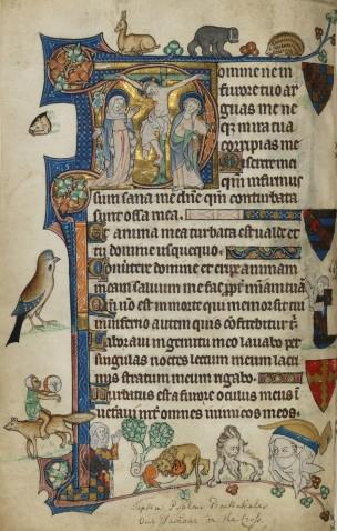 1315-1320 ca The Pabenham-Clifford Hours Fitzwilliam Museum, MS 242 fol 55v