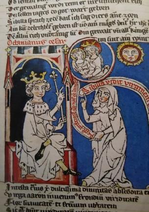 1324 ca Speculum dans Codex Cremifanensis