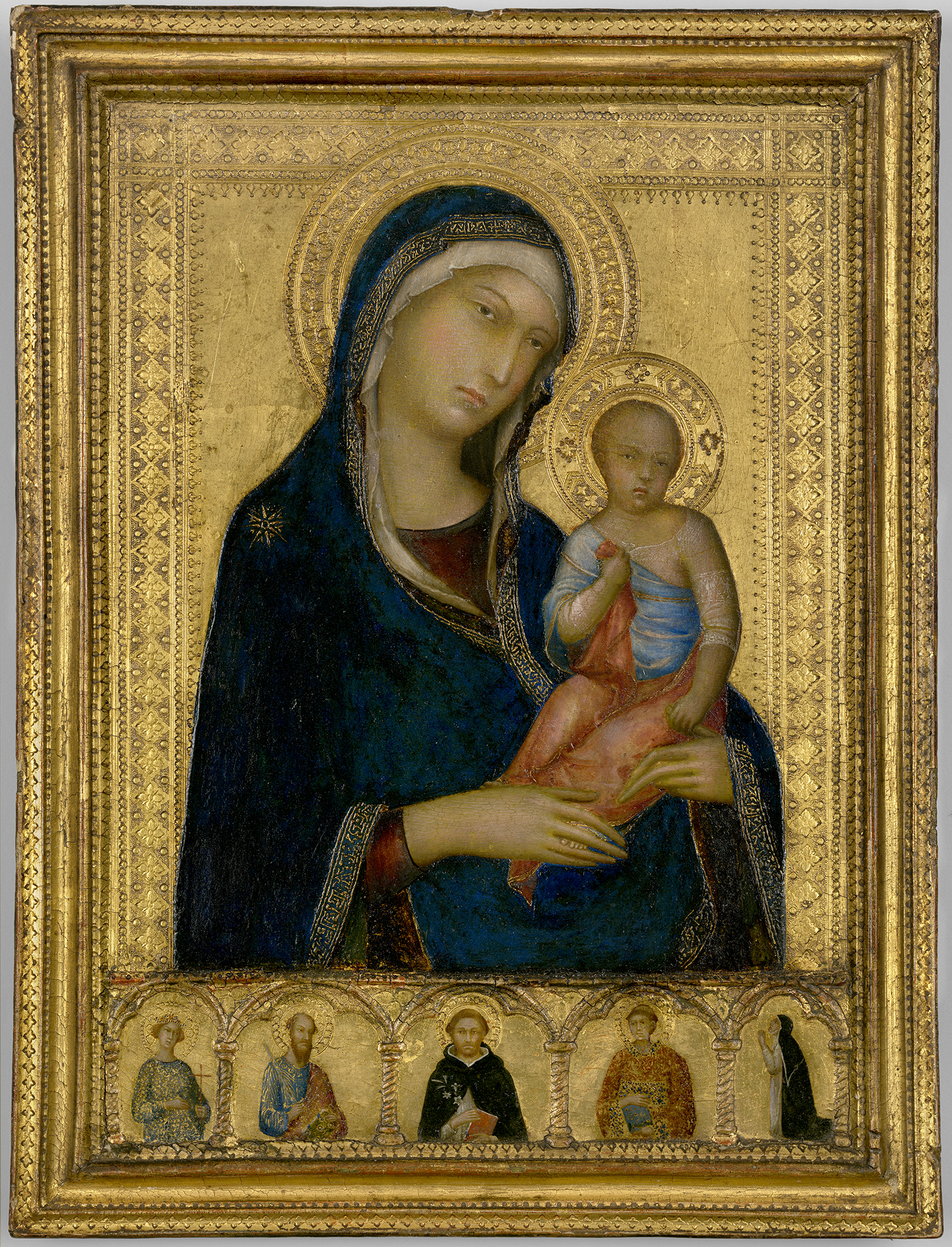 1325-Martini-Simone-The-Madonna-and-Child-with-Saints-and-a-Donor-Isabella-Stewart-Gardner-Museum-Boston