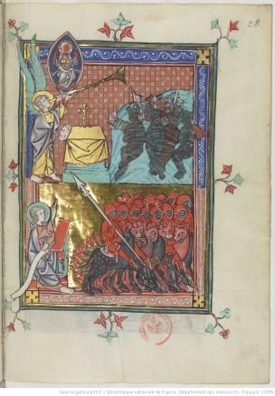 1333 Apocalypse_de_S_Jean_BNF Français 13096 fol 28r