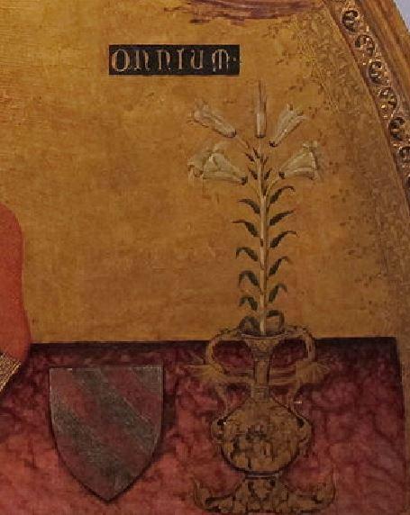 1345_ca Roberto_d'oderisio,_madonna_dell'umilta_.,_da_s._domenico_maggiore Capodimonte detail vase