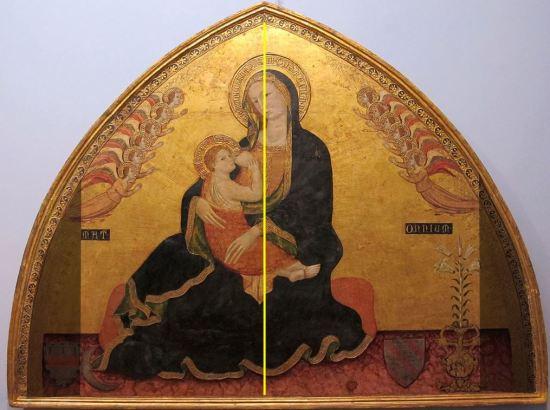 1345_ca Roberto_d'oderisio,_madonna_dell'umilta_.,_da_s._domenico_maggiore Capodimonte schema