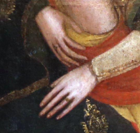 1349-50 Serafini Paolo da Modena Galleria Estense, Modena double anneau