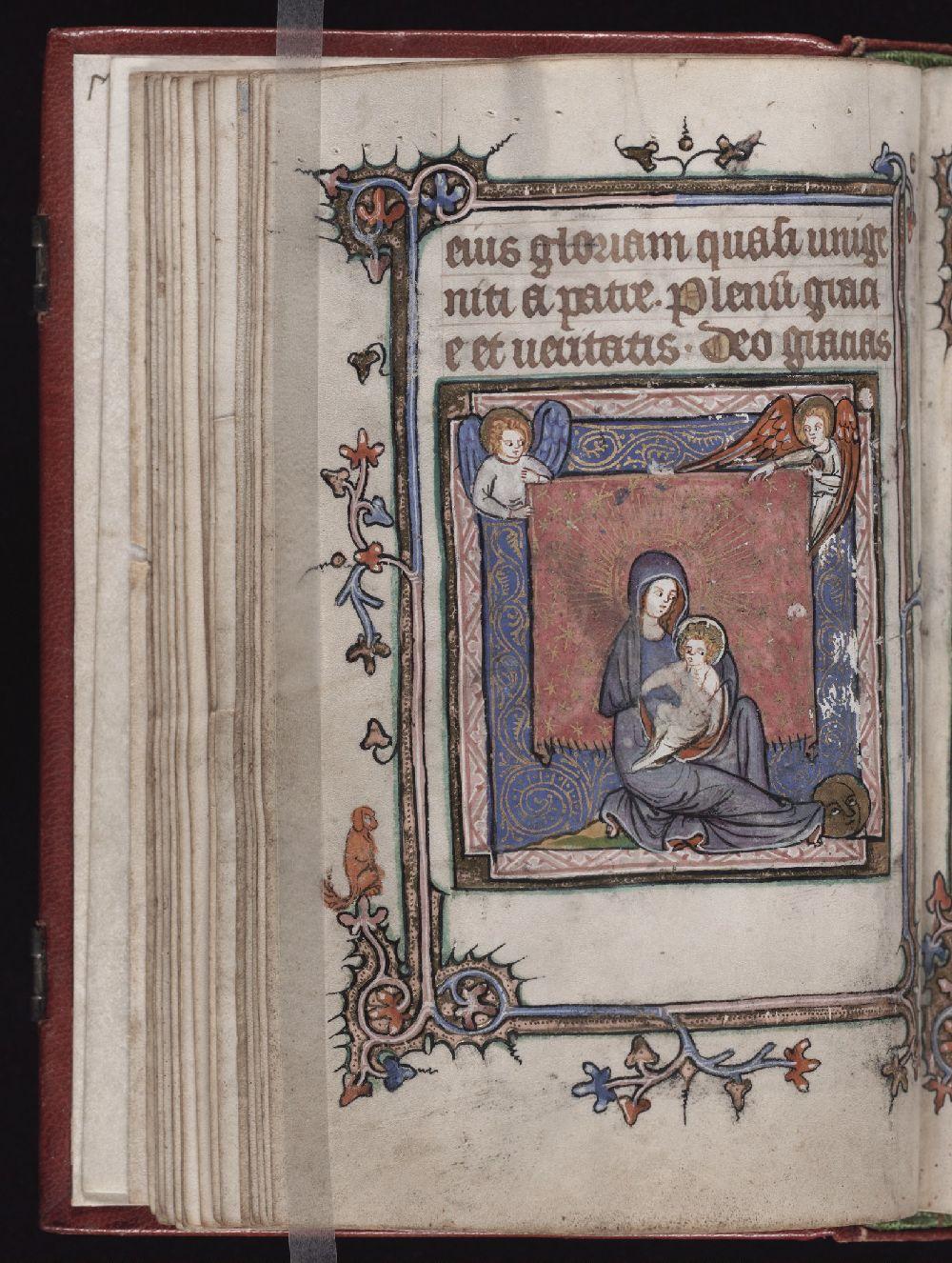 1350-1400 Yale University Library MS 657 fol 20v