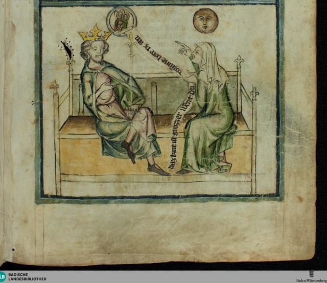 1350 ca Speculum humanae salvationis - Karlsruhe 3378 fol 24