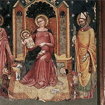 1362 Turone Madonna delle grazie santa maria della scala verona-
