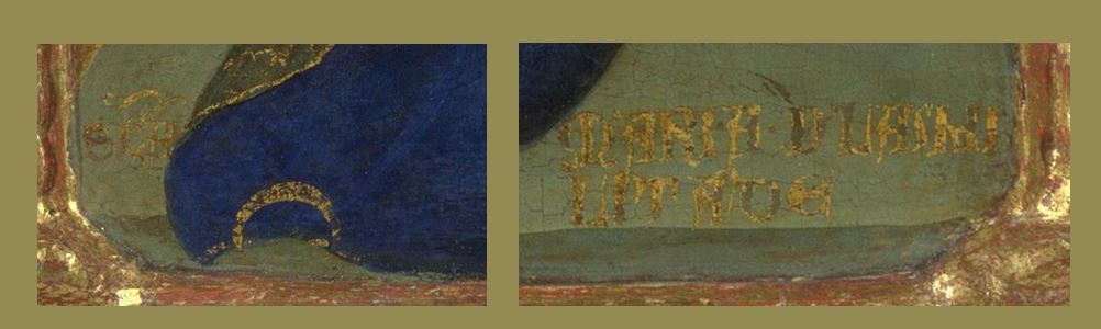 1366-70, Lorenzo Veneziano National Gallery Londres detail