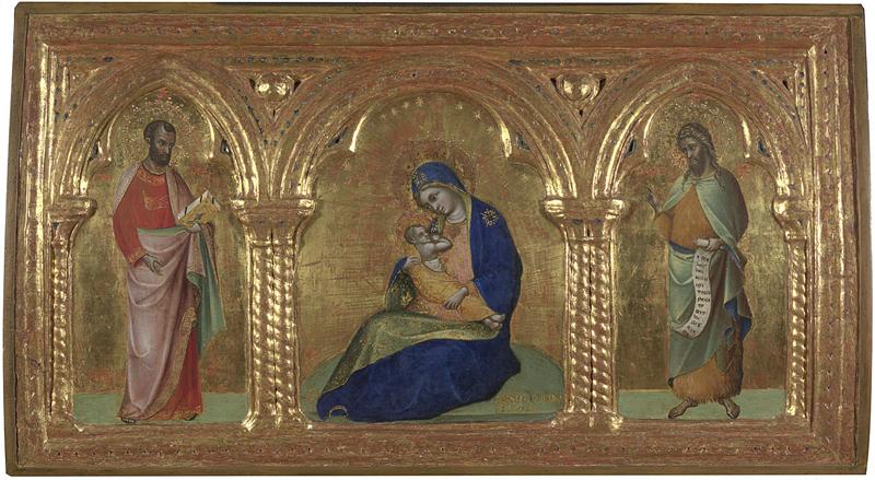 1366-70, Lorenzo Veneziano National Gallery Londres