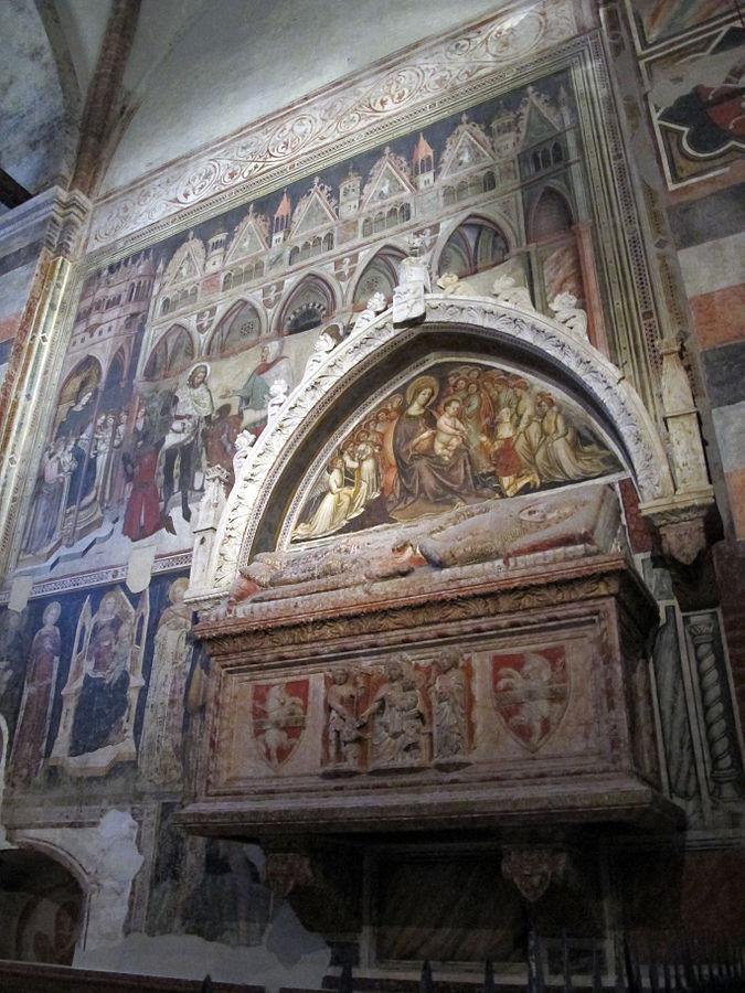 1369 Cappella_cavalli,_affreschi_di_altichiero_e_monum._a_federico_cavalli_con_affr._di_stefano_da_zevio, Sant Anastasia Verona