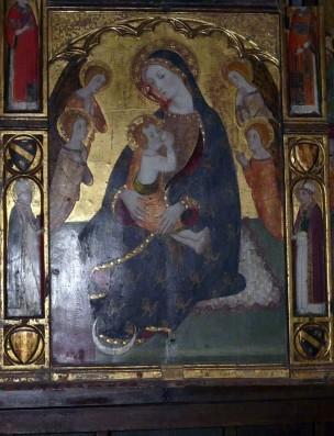 1370 ca Pedro Serra Eglise de Palau de Cerdagne