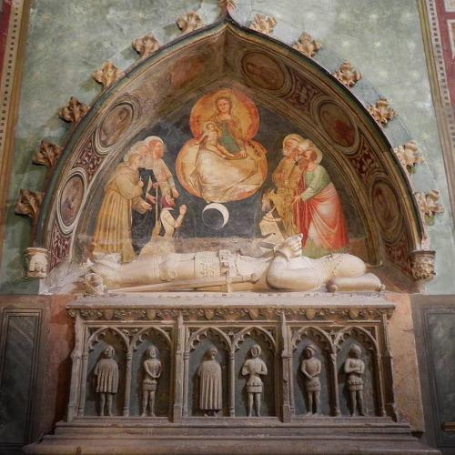 1373, Giusto di Menabuoi Tomb of Federico Lavellongo, Basilica di San't Antonio, Padova