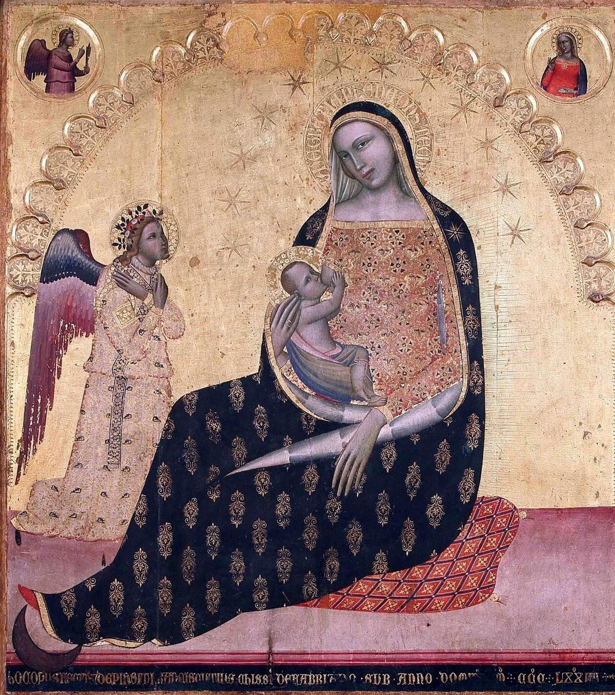 1374 Francescuccio Ghissi Chiesa di Sant'Andrea Montegiorgio