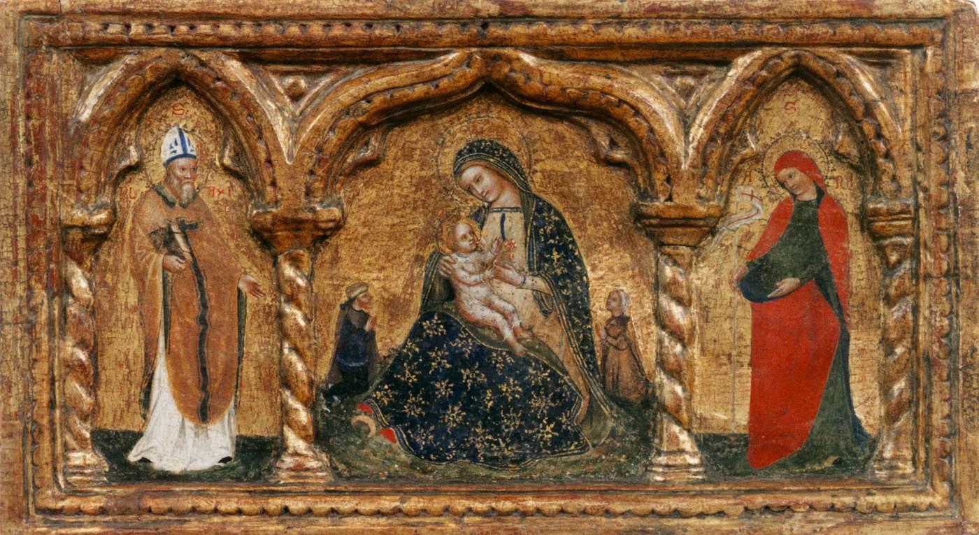 1375 ca Atelier Lorenzo Veneziano H. Blasius H. Helena Bonnefantenmuseum, Maastricht