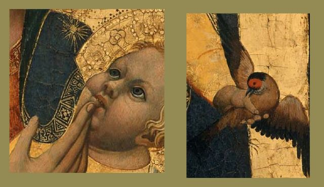1380 ca Antonio_Veneziano _Museum_of_Fine_Arts,_Boston langue oiseau