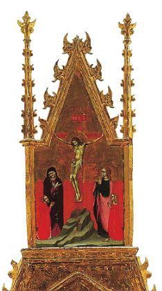 1380 ca Barnaba da Modena Retable de Sainte Lucie Musee de la Cathedrale Murcie detail