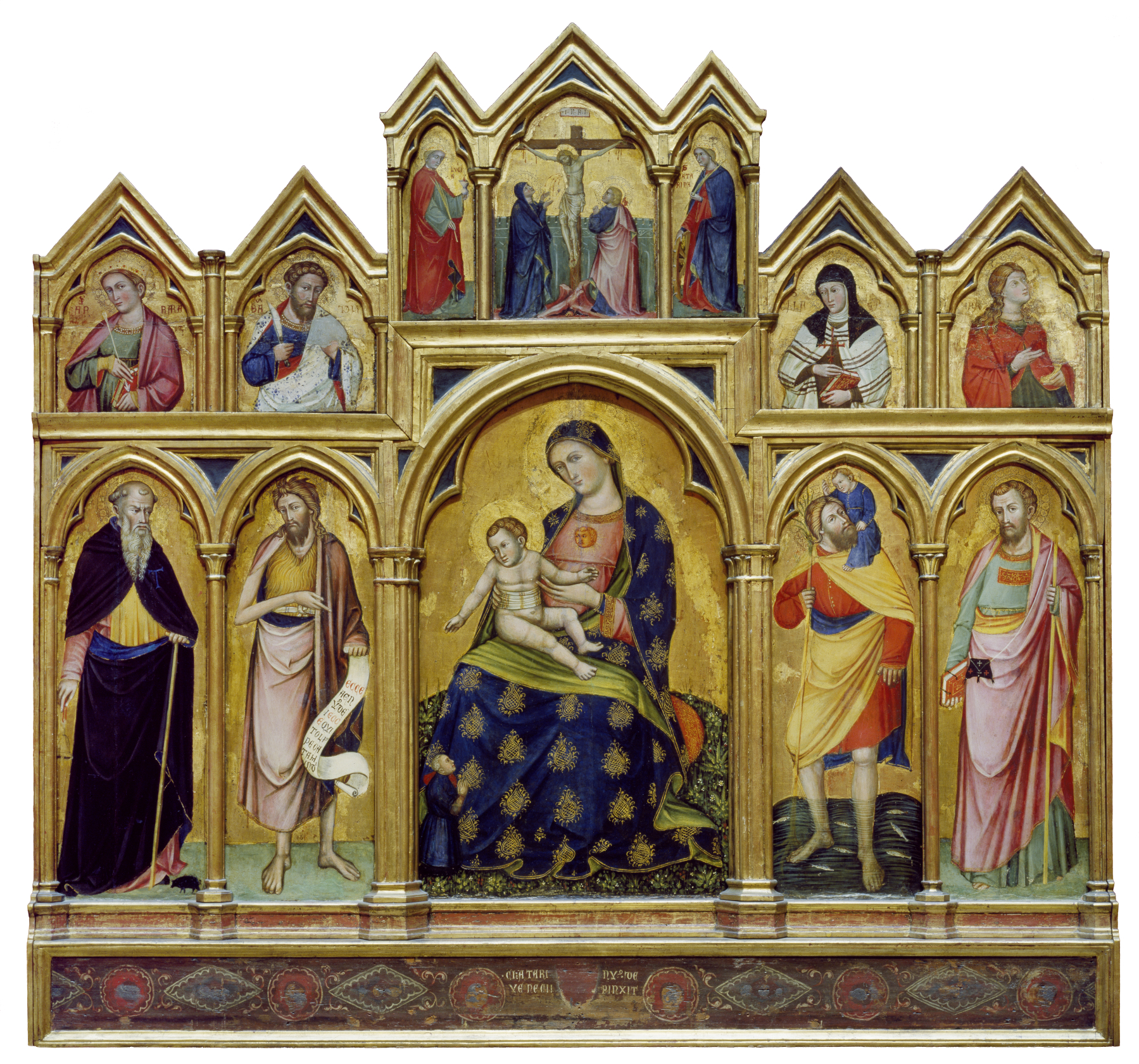 1380 ca Catarino Veneziano Humilite Walters Arts Gallery Baltimore