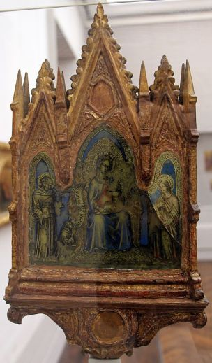 1380 ca Francesco di Vannuccio 1 Madonne Gemaldegalerie Berlin