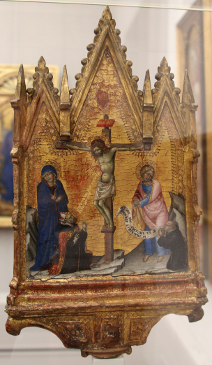 1380 ca Francesco di Vannuccio Crucifixion Gemaldegalerie Berlin