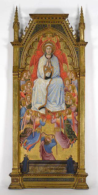 1390 Andrea Di Bartolo - Assunzione della Vergine con San Tommaso e due donatori - - Virginia Museum of Fine Arts, Richmond