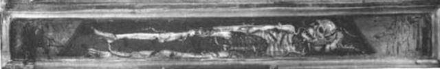 1391 ca Giovanni Del Biondo, la Vierge de l'Apocalypse avec Saints et Anges Pinacoteca vaticana gisant