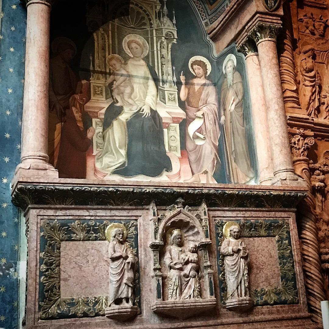 1392 Martino da Verona ,Chiesa di S. Anastasia, Verona tomba Tommaso pellegrini